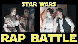 Star Wars Rap Battle Ep. 5 - Rey & Finn vs Han & Leia